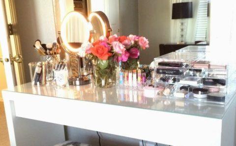 Mira como decorar y organizar tu espacio de arreglo personal