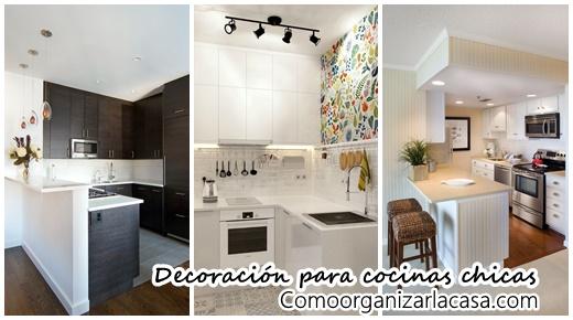 Mira como puedes decorar una cocina chica decoracion de for Como decorar una cocina chica