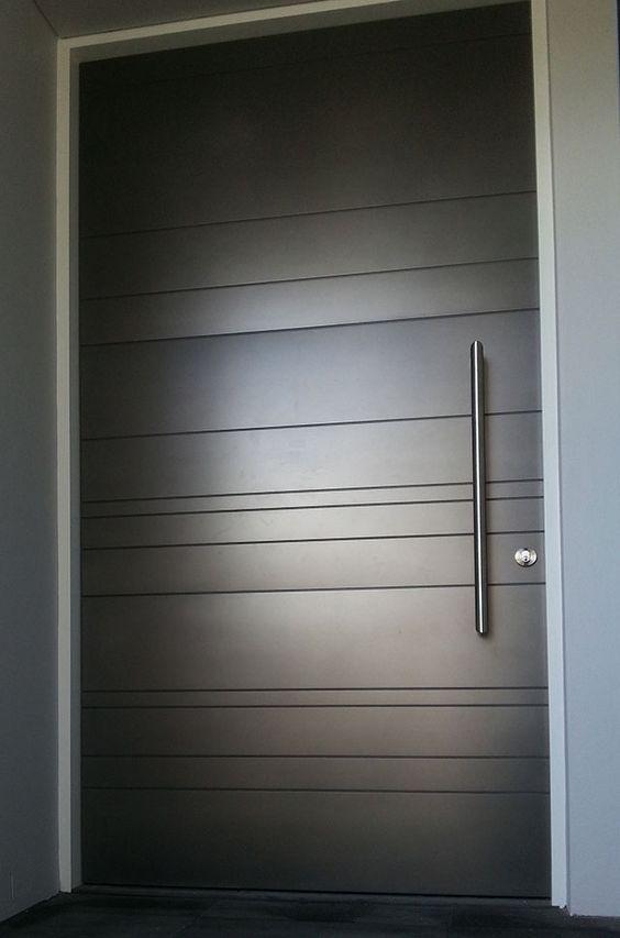 Modernos dise os para puertas de fachadas 30 for Puertas para fachadas