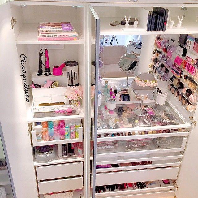 Muebles organizadores de maquillaje 28 decoracion de for Muebles organizadores