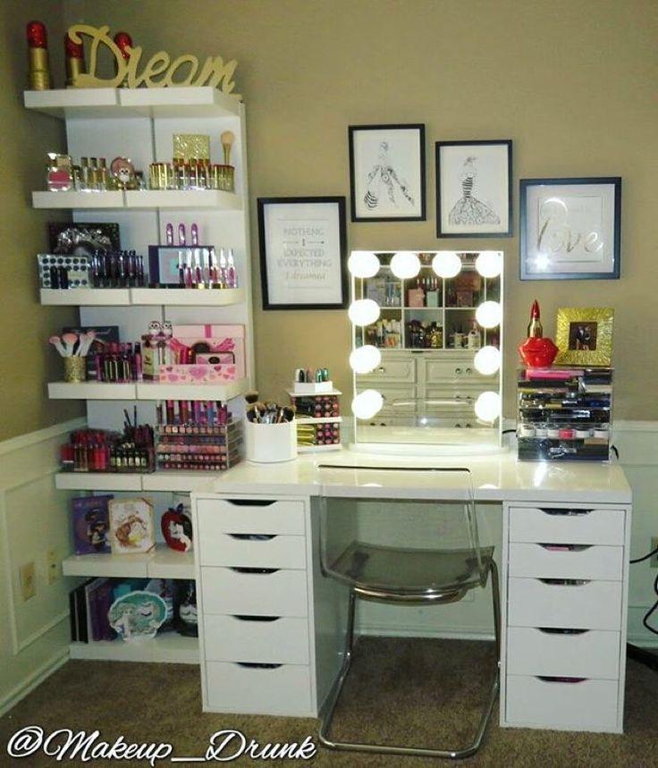 Muebles organizadores de maquillaje (5) | Decoracion de interiores ...