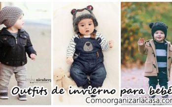 Outfits de invierno para bebés