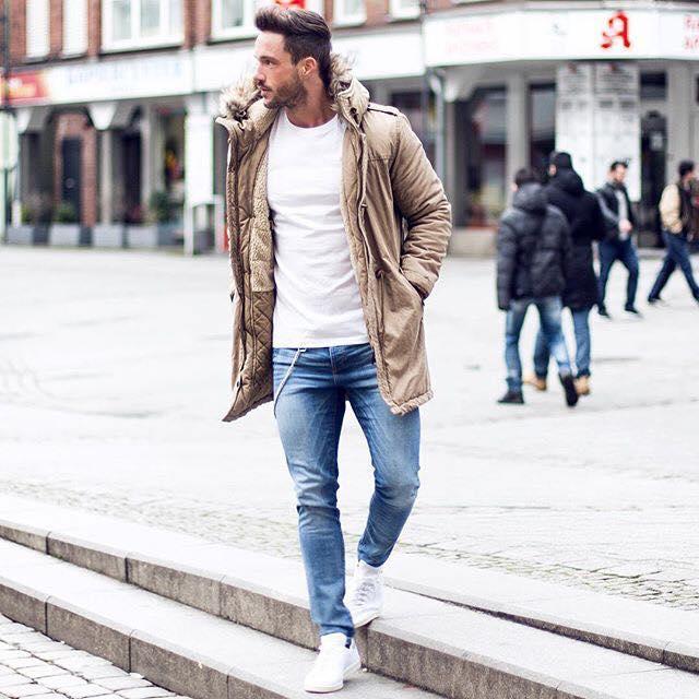 Outfits Para Hombre Con Sacos O Abrigos 12 Como