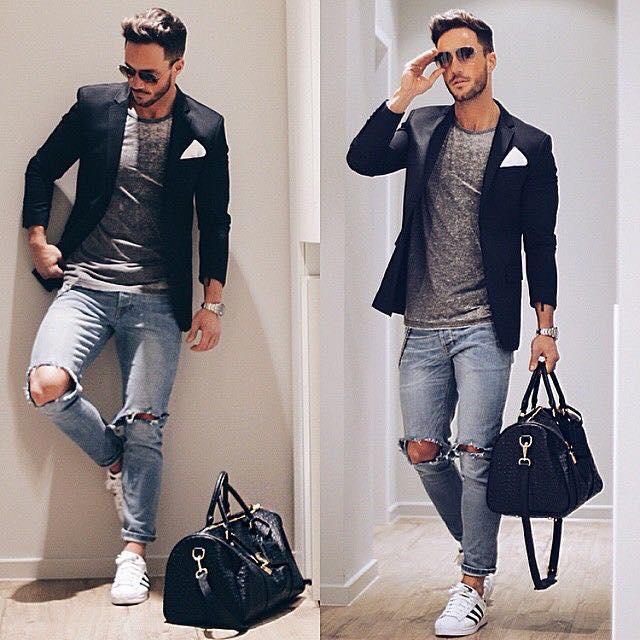 Outfits Para Hombre Con Sacos O Abrigos 19 Como