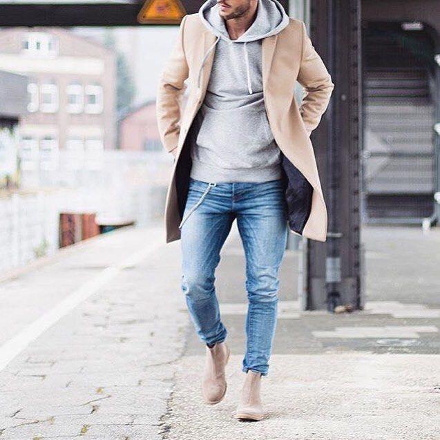 Outfits Para Hombre Con Sacos O Abrigos 9 Decoracion