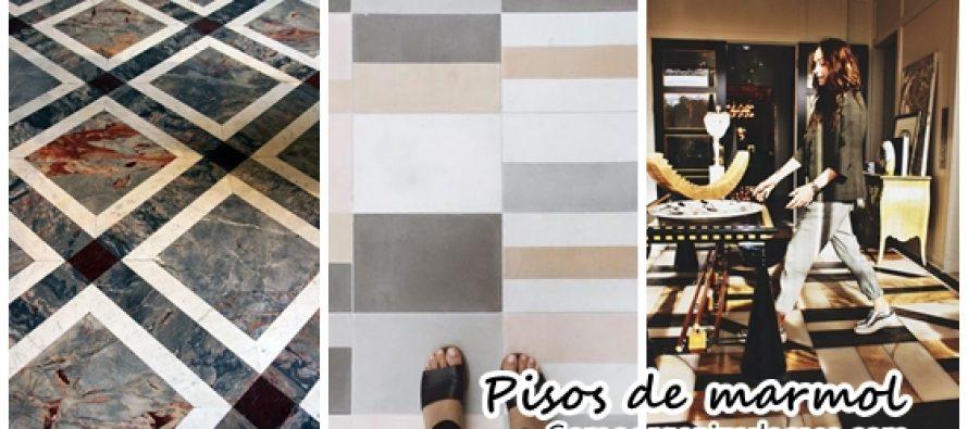 Pisos de marmol para interiores modernos curso de for Decoracion pisos normales