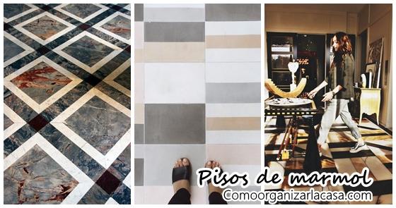 Pisos de marmol para interiores modernos decoracion de for Decoracion pisos normales