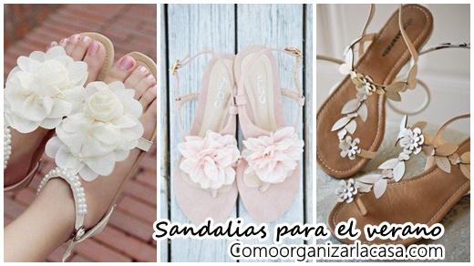 Sandalias Próximo Con Para VeranoComo Flores Ideales El Organizar ARj354Lq