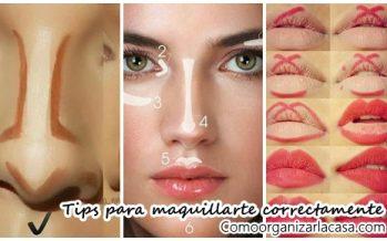 Tips para maquillarte correctamente