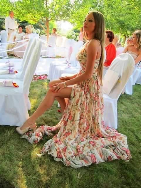 Fiestas De Hermosos Vestidos En Dia Jardin Para Y Moda