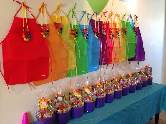 Fiesta de cumpleanos con tema de arte 30 decoracion de for Decoracion 30 cumpleanos