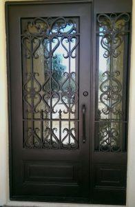 Fotos de puertas de herrería