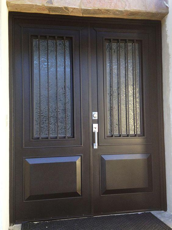 Im genes de puertas de herrer a para entrada principal - Puertas de herreria para entrada principal ...