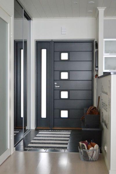 Imágenes de puertas de herrería para entrada principal