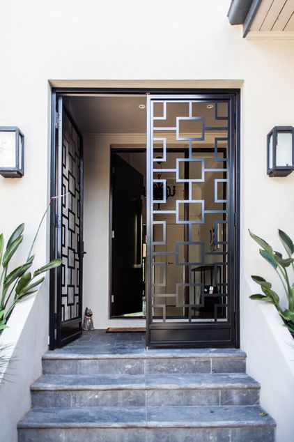 Modernos disenos puertas fachadas 32 - Puertas disenos modernos ...