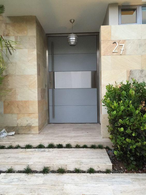 modernos disenos puertas fachadas 34 decoracion de