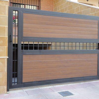 Portones de herrer a dise os que har n lucir la fachada for Fotos de garajes bonitos