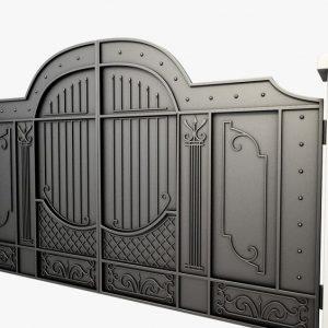Portones de hierro para casas grandes