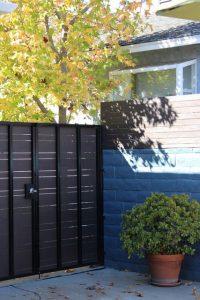 Portones de hierro para patio trasero