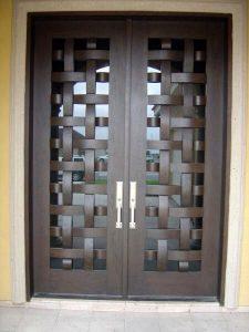 Puertas de herrería para exterior