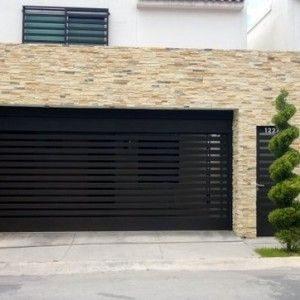 Portones de hierro para casas pequeñas