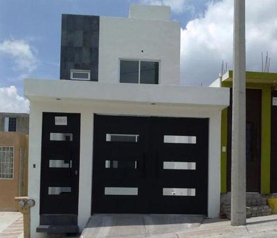 Portones de herrer a dise os que har n lucir la fachada for Modelos de portones metalicos para casas