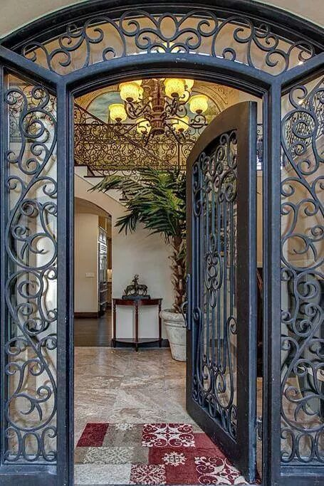 puertas de herrer a catalogo decoracion de interiores