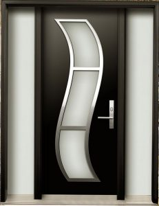 Puertas de herrería modernas para exterior