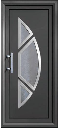Puertas de herrer a modernas para exterior decoracion de for Puertas de herreria para casa
