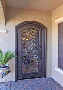 Puertas de herrería sencillas y bonitas
