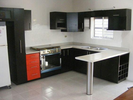 20 cocinas l te van inspirar remodelar la tuya ya 18 for Gabinetes de cocina en mdf
