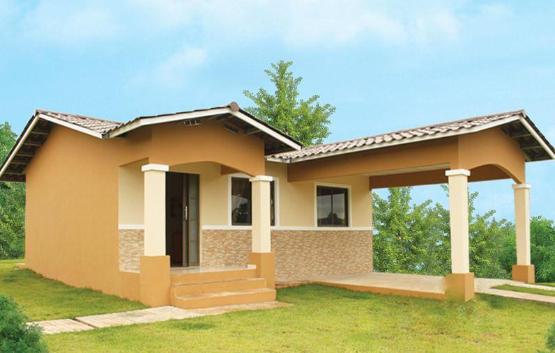 21 casas sencillas te animes construir la tuya - Fachadas de casas sencillas de un solo piso ...