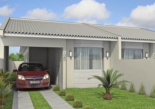 21 casas sencillas te animes construir la tuya for Modelos de casas sencillas