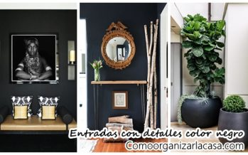 21 entradas decoradas con detalles color negro