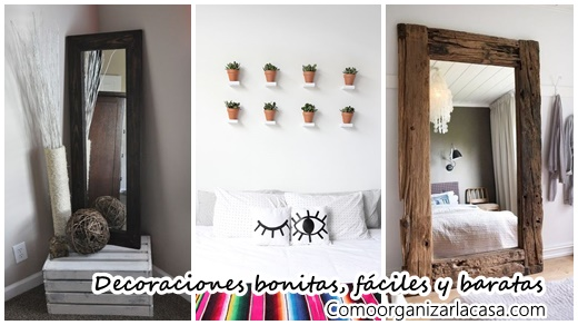 22 ideas para decorar tu casa de forma f cil bonita y for Decoracion casa barata online