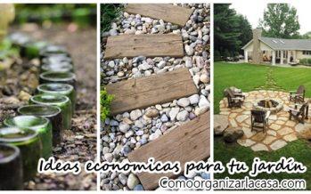 23 ideas para arreglar tu jardín con menos de 1000 pesos
