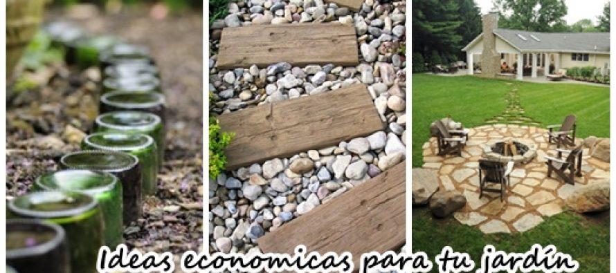 23 ideas para arreglar tu jard n con menos de 1000 pesos for Ideas para arreglar tu jardin