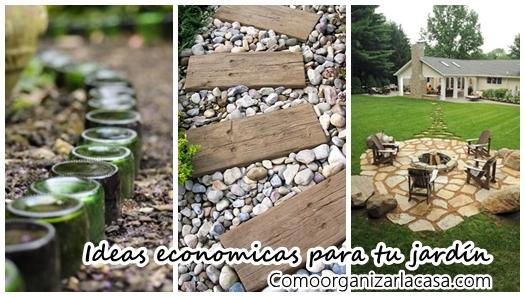 23 ideas para arreglar tu jard n con menos de 1000 pesos decoracion de interiores fachadas - Ideas para arreglar un jardin ...