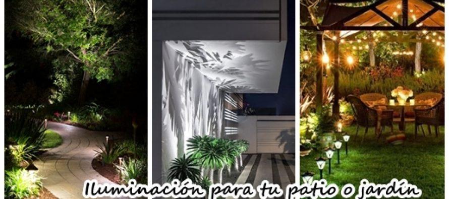 24 fabulosas ideas de iluminación para el patio o jardin