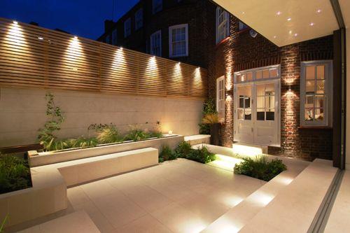 24 fabulosas ideas de iluminacion para el patio o jardin 5 for Focos para exterior jardin