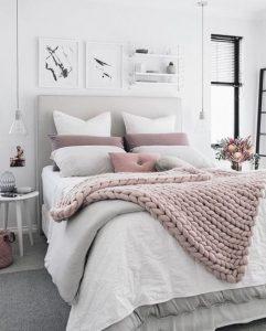 24 Ideas de decoración de interiores en rosa palo