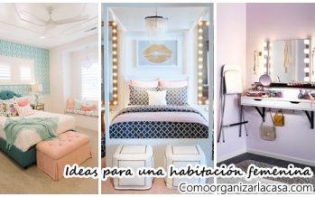 25 bonitas ideas para hacer femenina tu habitación