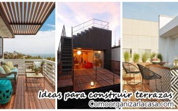 25 terrazas que te van a inspirar a construir una en tu azotea
