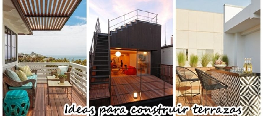25 terrazas que te van a inspirar a construir una en tu - Construir una terraza ...