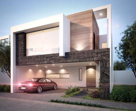 26 fabulosas ideas revestir tus paredes exteriores 16 - Revestir paredes exteriores ...