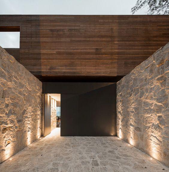 26 fabulosas ideas revestir tus paredes exteriores 6 - Revestir paredes exteriores ...