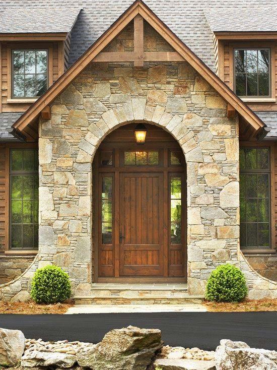 26 fabulosas ideas revestir tus paredes exteriores 8 como organizar la casa fachadas - Revestir pared exterior ...
