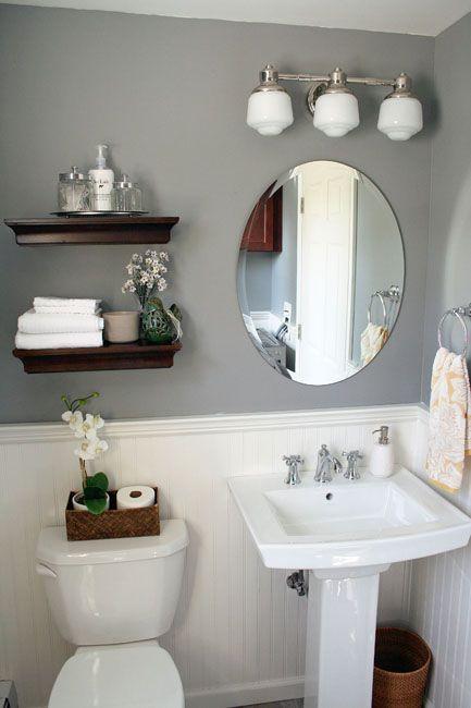 27 banos pequenos modernos toques elegantes 24 - Banos pequenos modernos y elegante ...