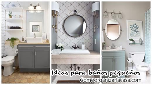 27 ba os peque os modernos y con toques muy elegantes for Como decorar banos pequenos modernos