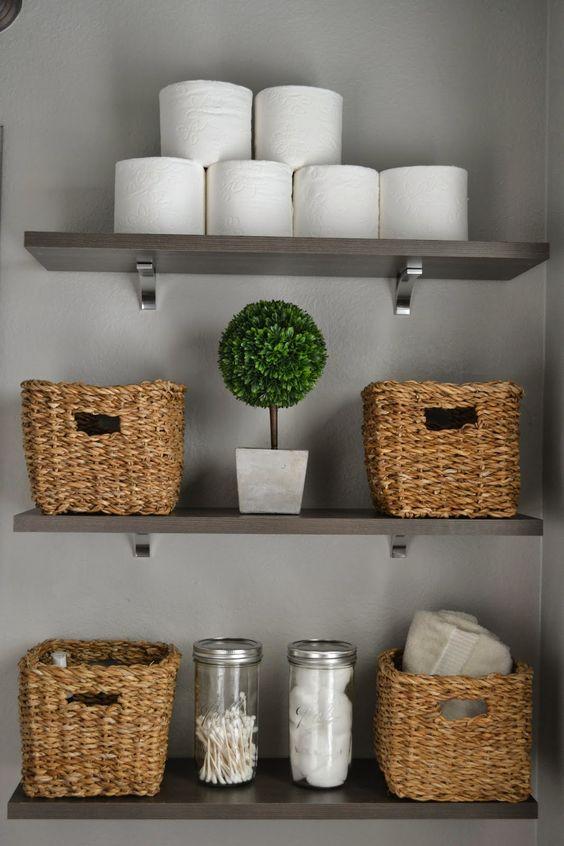 27 estanterias armarios banos 3 decoracion de for Estanterias para armarios